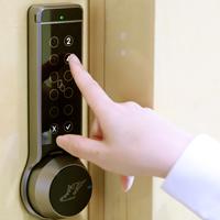 指紋認証警備システム